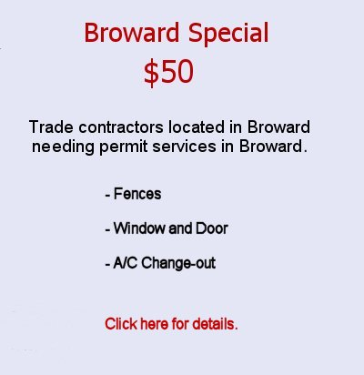 Click here for details on the $50 Broward special.